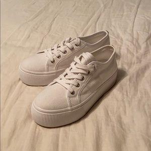 Cute wedge sneakers